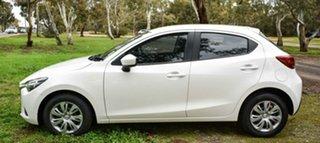2015 Mazda 2 DJ2HAA Neo SKYACTIV-Drive White 6 Speed Sports Automatic Hatchback