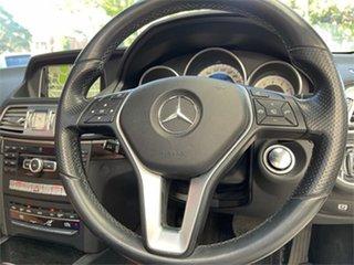 2013 Mercedes-Benz E-Class A207 E400 White Cabriolet