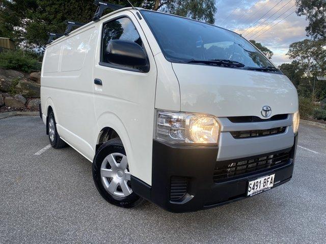 Used Toyota HiAce TRH201R MY14 LWB Totness, 2014 Toyota HiAce TRH201R MY14 LWB White 5 Speed Manual Van