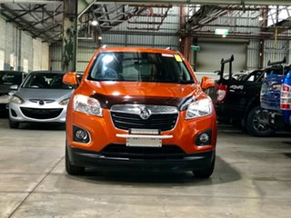 2014 Holden Trax TJ MY14 LS Orange 6 Speed Automatic Wagon.
