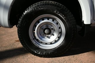2017 Mitsubishi Triton MQ MY17 GLX (4x4) White 5 Speed Automatic Cab Chassis.