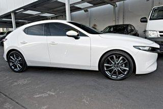 2020 Mazda 3 BP2HL6 G25 SKYACTIV-MT GT White 6 Speed Manual Hatchback.