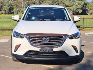 2017 Mazda CX-3 DK2W7A sTouring SKYACTIV-Drive White 6 Speed Sports Automatic Wagon.