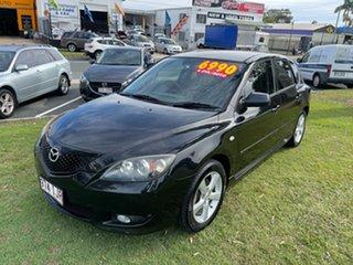2004 Mazda 3 BK10F1 Maxx Sport Black 4 Speed Sports Automatic Hatchback.