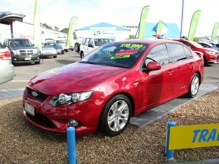 2011 Ford Falcon XR6 Red 4 Speed Automatic Sedan.