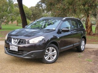 2013 Nissan Dualis J107 Series 3 MY12 +2 Hatch X-tronic 2WD ST Nightshade 6 Speed Constant Variable.