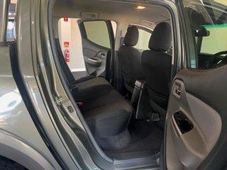2017 Mitsubishi Triton MQ MY18 GLS Double Cab Green 6 Speed Manual Utility