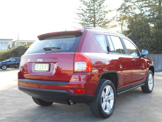 2012 Jeep Compass MK MY12 Sport Red 5 Speed Manual Wagon