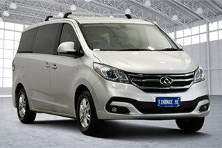 2018 LDV G10 SV7A Executive Aurora Silver 6 Speed Sports Automatic Wagon.