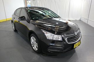 2015 Holden Cruze JH Series II MY15 Equipe Black/Grey 6 Speed Sports Automatic Hatchback.