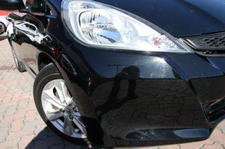2012 Honda Jazz GE MY12 Vibe Black 5 Speed Manual Hatchback.