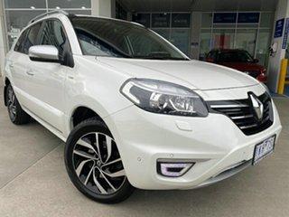 2014 Renault Koleos H45 Phase III Privilege White 1 Speed Constant Variable Wagon.