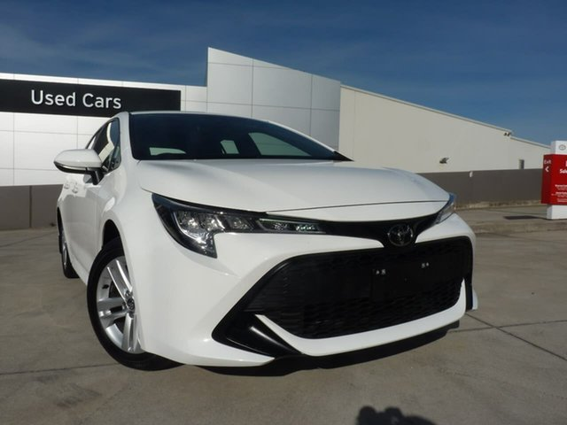 Pre-Owned Toyota Corolla Mzea12R Ascent Sport Blacktown, 2019 Toyota Corolla Mzea12R Ascent Sport Glacier White 10 Speed Constant Variable Hatchback