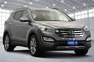 2014 Hyundai Santa Fe DM2 MY15 Elite Titanium Silver 6 Speed Sports Automatic Wagon.