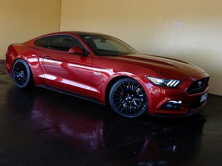 2016 Ford Mustang FM MY17 Fastback GT 5.0 V8 Red 6 Speed Manual Coupe