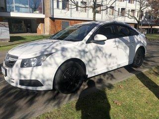 2009 Holden Cruze JG CD White 6 Speed Sports Automatic Sedan