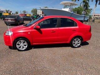 2006 Holden Barina Red 5 Speed Manual Sedan.