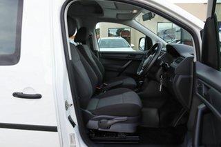 2016 Volkswagen Caddy 2KN MY17 TSI220 Crewvan Maxi DSG White 7 Speed Sports Automatic Dual Clutch