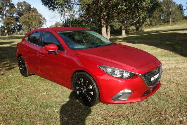 Used Mazda 3 BM5478 Maxx SKYACTIV-Drive East Maitland, 2014 Mazda 3 BM5478 Maxx SKYACTIV-Drive Red 6 Speed Sports Automatic Hatchback