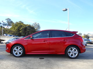 2014 Ford Focus LW MkII MY14 Sport PwrShift Red 6 Speed Sports Automatic Dual Clutch Hatchback