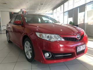 2013 Toyota Camry ASV50R Atara R Barcelona Red 6 Speed Sports Automatic Sedan.