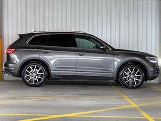 2019 Volkswagen Touareg CR MY19 190TDI Tiptronic 4MOTION Launch Edition Grey 8 Speed.