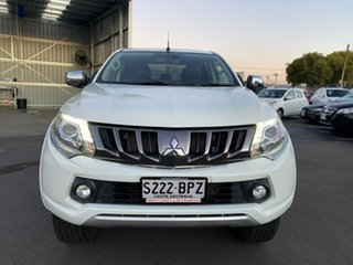 2017 Mitsubishi Triton MQ MY17 Exceed Double Cab 5 Speed Sports Automatic Utility.