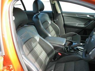 2010 Ford Falcon FG Upgrade XR6 50th Anniversary Gold 6 Speed Auto Seq Sportshift Sedan