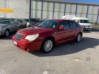 2007 Chrysler Sebring JS Touring Red 4 Speed Automatic Sedan.