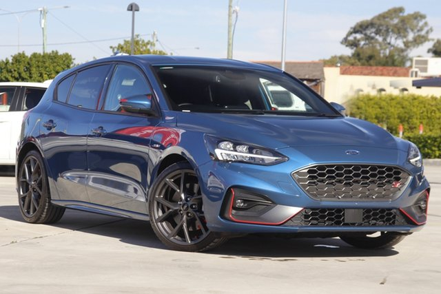 Used Ford Focus SA 2021MY ST Aspley, 2020 Ford Focus SA 2021MY ST Blue 7 Speed Automatic Hatchback