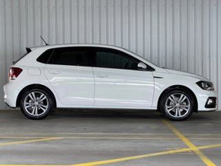 2018 Volkswagen Polo AW MY19 85TSI DSG Comfortline White 7 Speed Sports Automatic Dual Clutch.