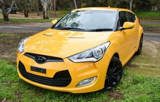 2012 Hyundai Veloster FS Coupe Yellow 6 Speed Manual Hatchback.