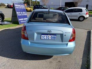 2006 Hyundai Accent MC 1.6 Blue 5 Speed Manual Sedan