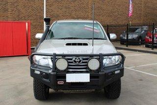 2013 Toyota Hilux KUN26R MY14 SR5 (4x4) Silver 5 Speed Manual Dual Cab Pick-up.