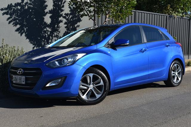 Used Hyundai i30 GD3 Series II MY16 Active X Brighton, 2015 Hyundai i30 GD3 Series II MY16 Active X Blue 6 Speed Sports Automatic Hatchback
