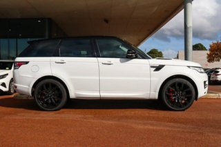 2013 Land Rover Range Rover Sport L494 MY14 HSE White 8 Speed Sports Automatic Wagon.