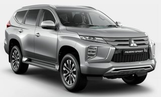 2021 Mitsubishi Pajero Sport QF MY21 GLS Silver 8 Speed Sports Automatic Wagon