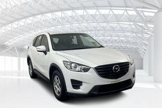 2016 Mazda CX-5 KE1032 Maxx SKYACTIV-Drive AWD Crystal White 6 Speed Sports Automatic Wagon.