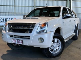 2010 Isuzu D-MAX MY10 Limited Edition II White 4 Speed Automatic Utility.