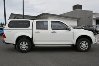 2011 Isuzu D-MAX MY11 LS 4x2 High Ride White 4 Speed Automatic Utility.