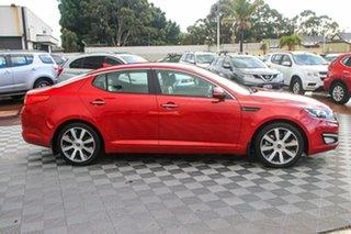 2013 Kia Optima TF MY13 SLi Red 6 Speed Sports Automatic Sedan.