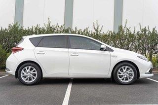 2018 Toyota Corolla ZWE186R Hybrid E-CVT White 1 Speed Constant Variable Hatchback