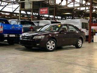 2007 Hyundai Sonata NF Purple 4 Speed Automatic Sedan.