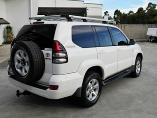 2005 Toyota Landcruiser Prado GRJ120R GXL White 5 Speed Automatic Wagon