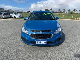 2015 Holden Cruze JH MY15 Equipe Blue 6 Speed Automatic Sedan.