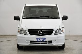 2014 Mercedes-Benz Vito 639 MY14 113CDI White 5 Speed Automatic Wagon.