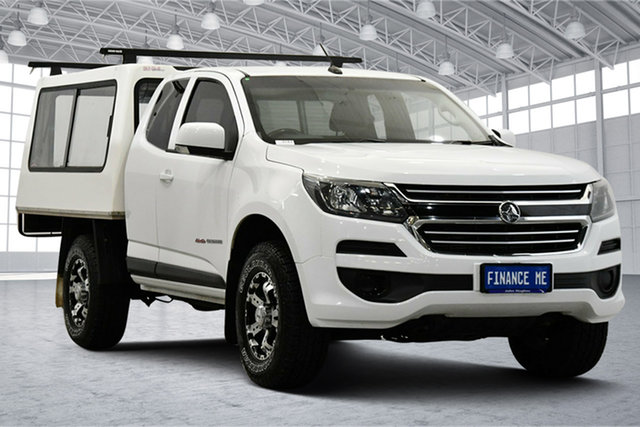 Used Holden Colorado RG MY18 LS Space Cab Victoria Park, 2017 Holden Colorado RG MY18 LS Space Cab White 6 Speed Sports Automatic Cab Chassis