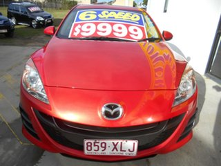 2010 Mazda 3 BL10F1 MY10 Neo Red 6 Speed Manual Hatchback.