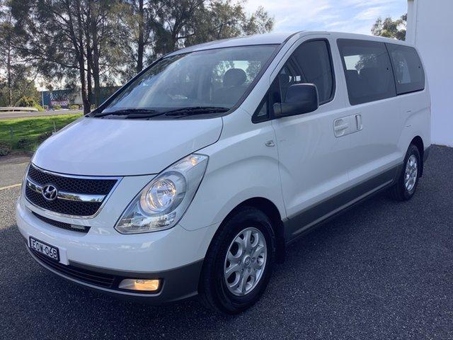 Used Hyundai iMAX TQ-W MY15 Maitland, 2014 Hyundai iMAX TQ-W MY15 White 4 Speed Automatic Wagon