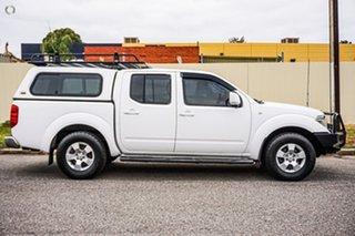 2010 Nissan Navara D40 ST White 6 Speed Manual Utility.